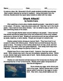 4.RI6, 4.RI. 8 and 4.RI 9 Common Assessment (Sharks)