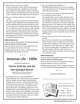 4SL - American Life - FREE Comprehension Questions and Answers