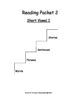4Steps Reading Packet Title Pages