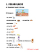 4TH - 8TH - LESSON 7 - FOODS