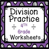 4th Grade Long Division Practice