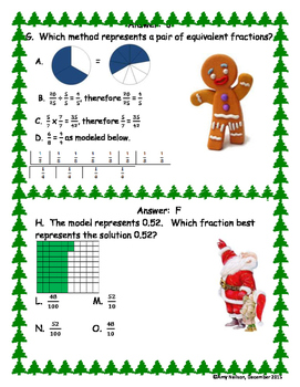 4TH GRADE FRACTION REVIEW