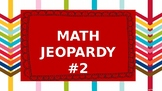 4TH GRADE MATH STAAR REVIEW JEOPARDY 2