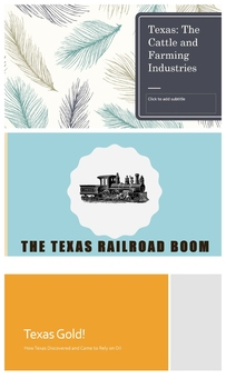 4TH GRADE Texas as a Growing State Unit Powerpoints