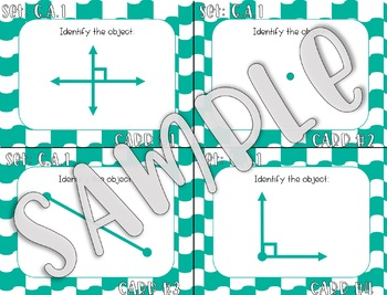 4TH Grade Geometry Task Cards - ALL Standards