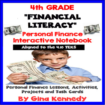 4th Grade Math 4.10 Personal Finance/ Financial Literacy I