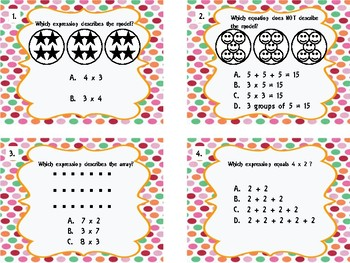 4TH Grade Math Task Cards - Back to School