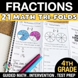 4th Grade Fractions & Decimals - 4.NF.1 - 4.NF.7 - Distanc