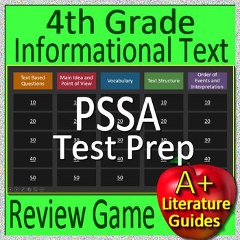 4th Grade Pssa Worksheets Teaching Resources TpT