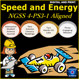 4TH Grade Science: NGSS 4-PS3-1 Speed and Energy for Googl