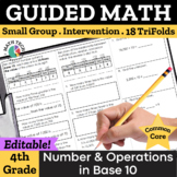 4th Grade Place Value Strategies, Addition/Subtraction, Multiplication & More!