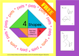 Tangram: 4 Shapes - The new Classic Collection - Math Mats