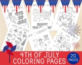 4Th July Coloring Pages, 20 Independence Day Coloring Shee