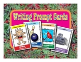 4W Writing Prompt Cards