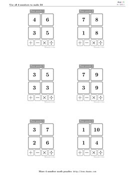 4numbers math game (10)