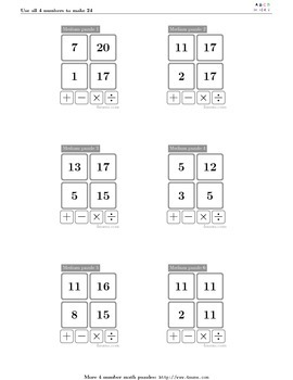 4numbers math game (11)