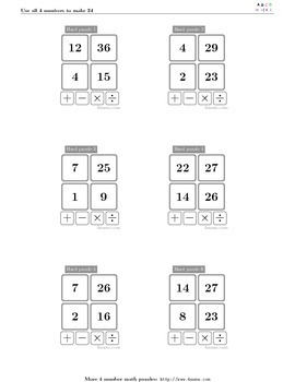 4numbers math game (12)
