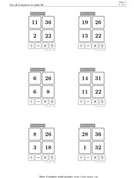 4numbers math game (13)