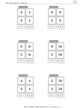 4numbers math game (15)