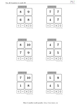 4numbers math game (1)