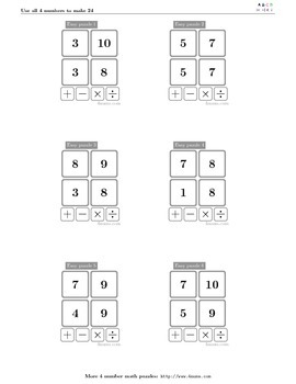 4numbers math game (17)