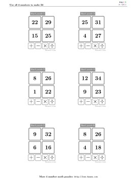 4numbers math game (18)
