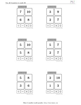4numbers math game (19)
