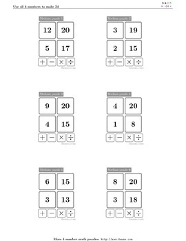 4numbers math game (20)