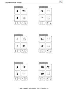 4numbers math game (3)