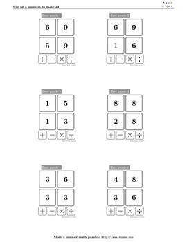 4numbers math game (7)