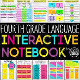 4th Grade Language Interactive Notebook Grammar Interactive Notebook