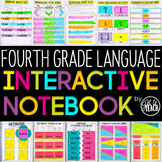 4th Grade Language Interactive Notebook Grammar Interactiv