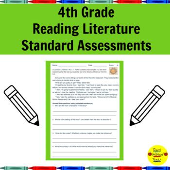 4th Grade Reading Literature Standard Assessments