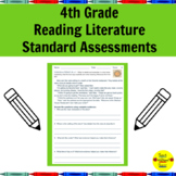 4th Grade Reading Literature Standard Assessments