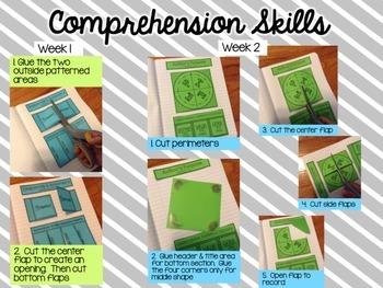 4th Grade Reading Street Interactive Notebook Unit 1: Common Core Edition