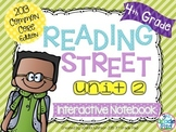 4th Grade Reading Street Interactive Notebook Unit 2: Comm