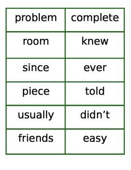 4th 100 Fry Word Flashcards