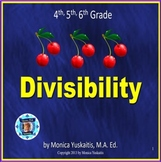 4th 5th 6th Grade Divisibility Powerpoint Lesson