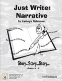 4th, 5th, 6th Grade Writing Program - Narrative Workbooks - Elementary Writing