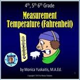 4th, 5th, 6th Measurement Fahrenheit Temperature Powerpoin