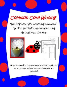 writing  narratives, opinions, persuasive, and informational resources