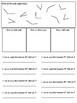 4th/5th Grade Angle Printable