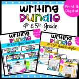 4th & 5th Grade Big Writing Bundle with Google Slides Distance Learning