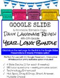 4th-5th Grade Daily Language Review YEAR LONG Bundle
