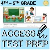 4th - 5th Grade ELL ACCESS Writing Practice (MATH!)