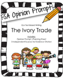 4th/5th Grade Text-Based Writing: The Ivory Trade (Opinion) FSA