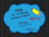 4th/5th Grade FSA Common Core Writing Prompt Cards - Set 5