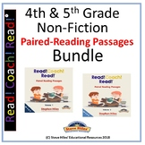 4th & 5th Grade Paired-Reading Passages (Bundle)