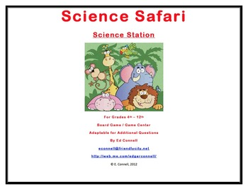 4th 5th Grade Science Easy Set Up Station