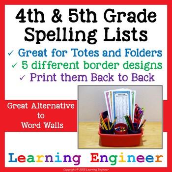 4th Grade Spelling   5th Grade Spelling   4th Grade Writing   5th Grade Writing